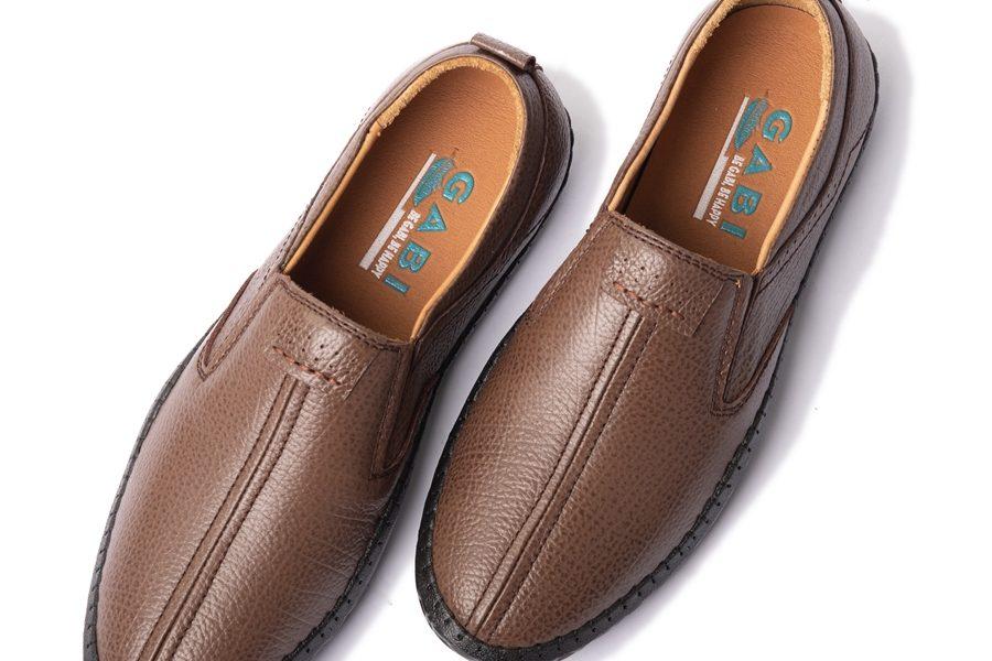 Giày lười nam sang trọng màu nâu GBL27
