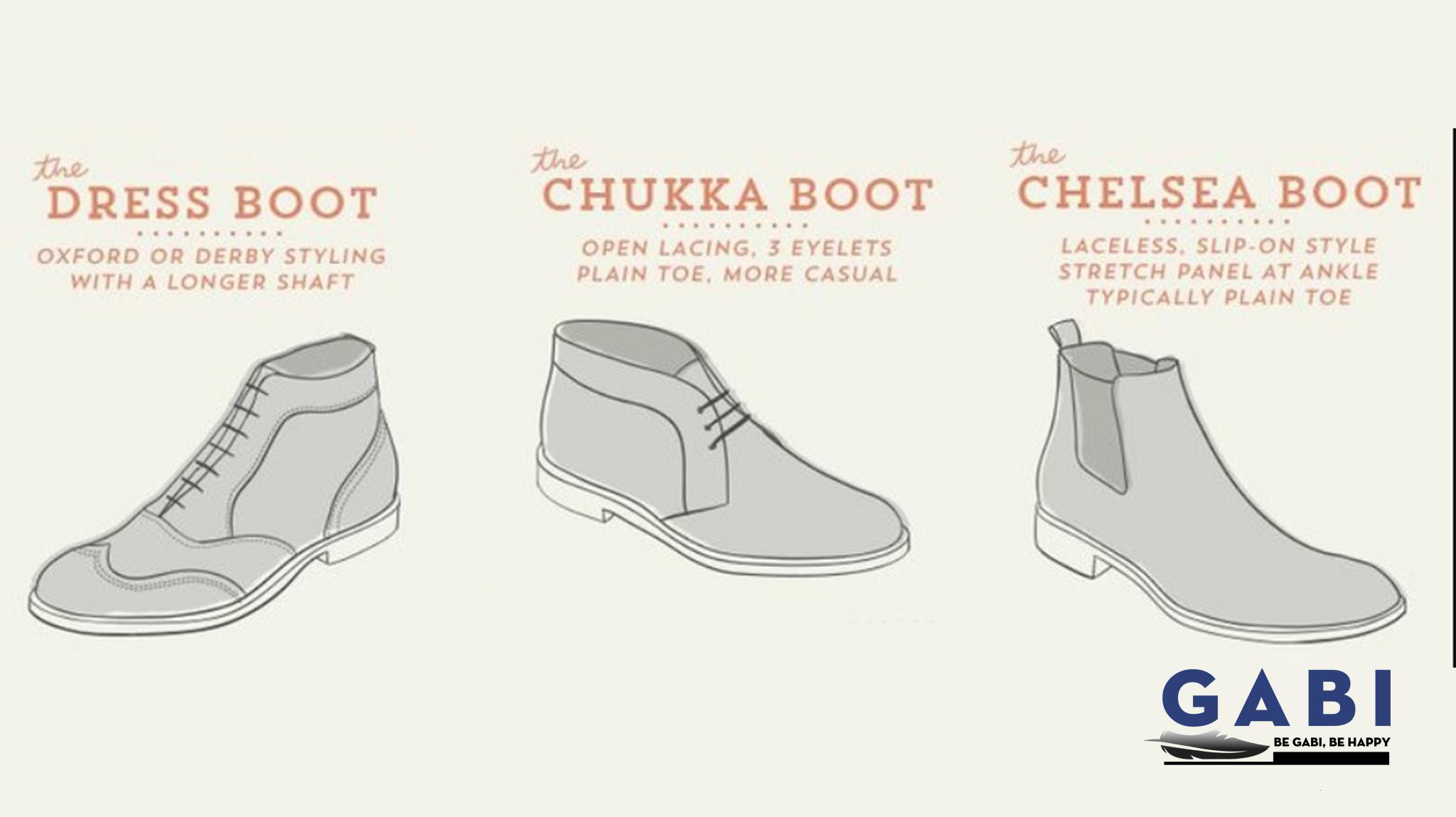 Nhóm giày boot cơ bản
