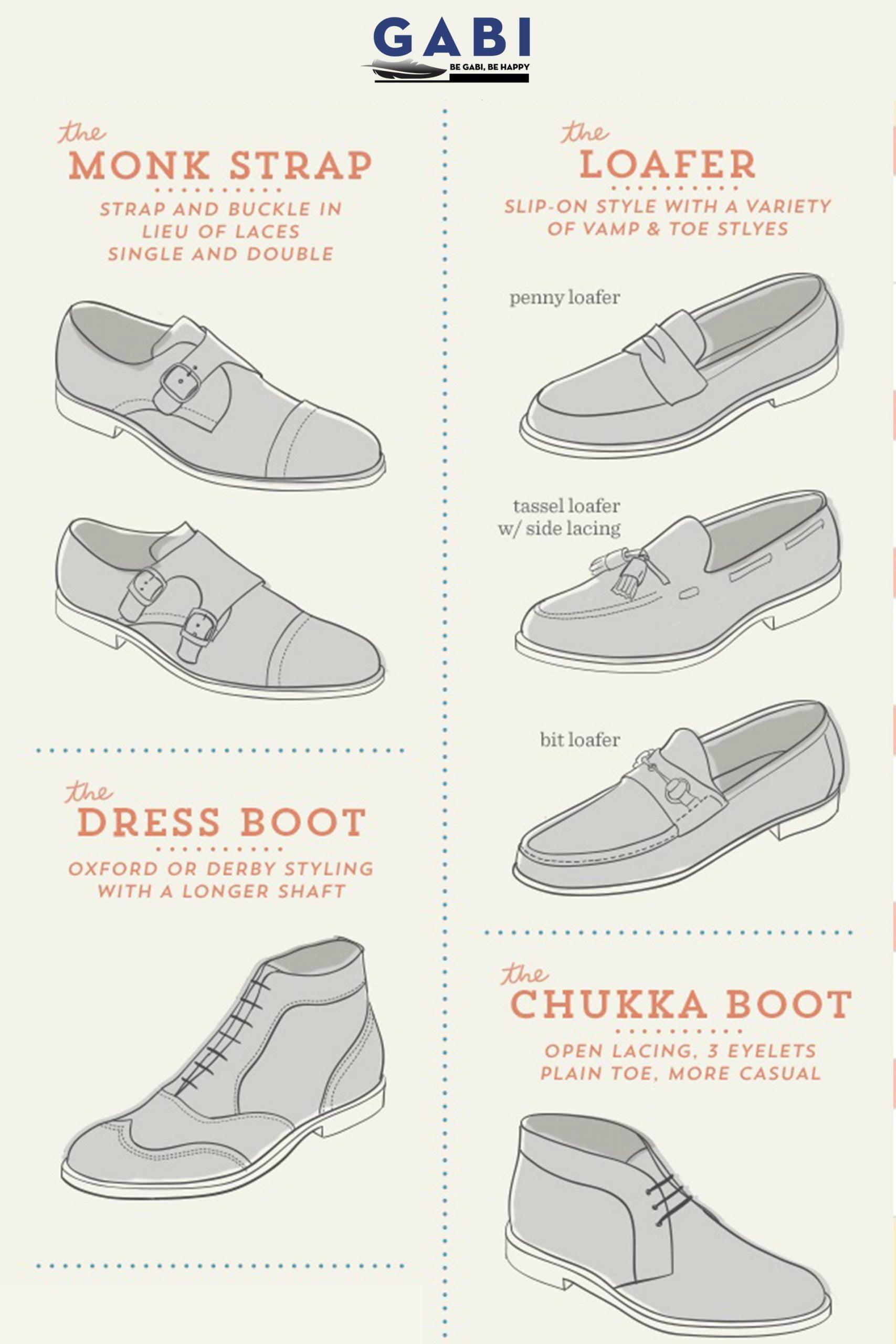 Nhóm giày Monk Strap