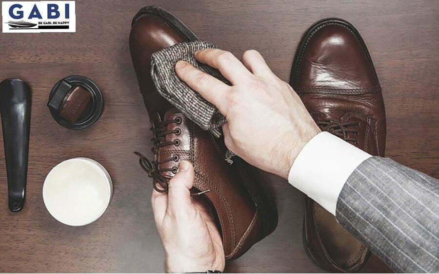bảo quản giày da nam