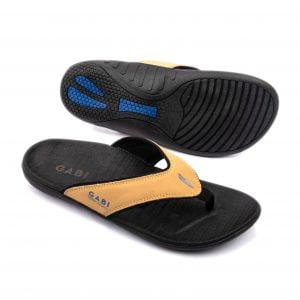 Giày mọi nâu pha trộn cổ điển và hiện đại GBM12