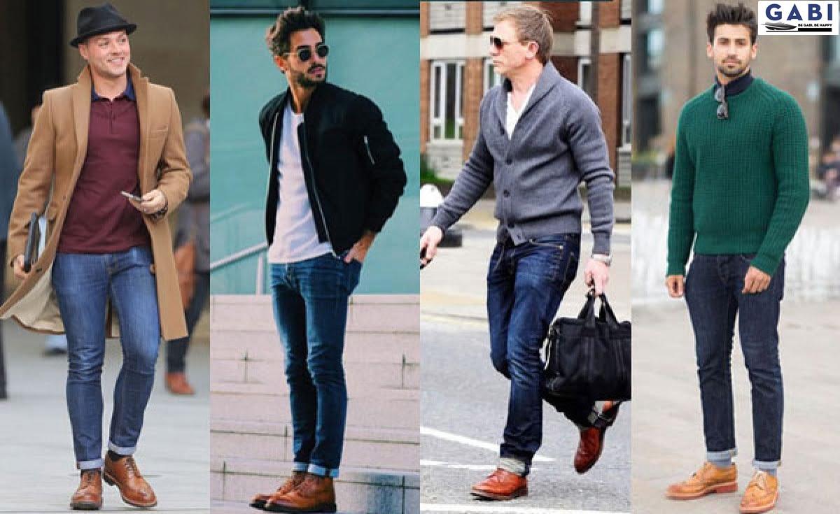 Bật mí cách phối đồ với giày tây Oxford
